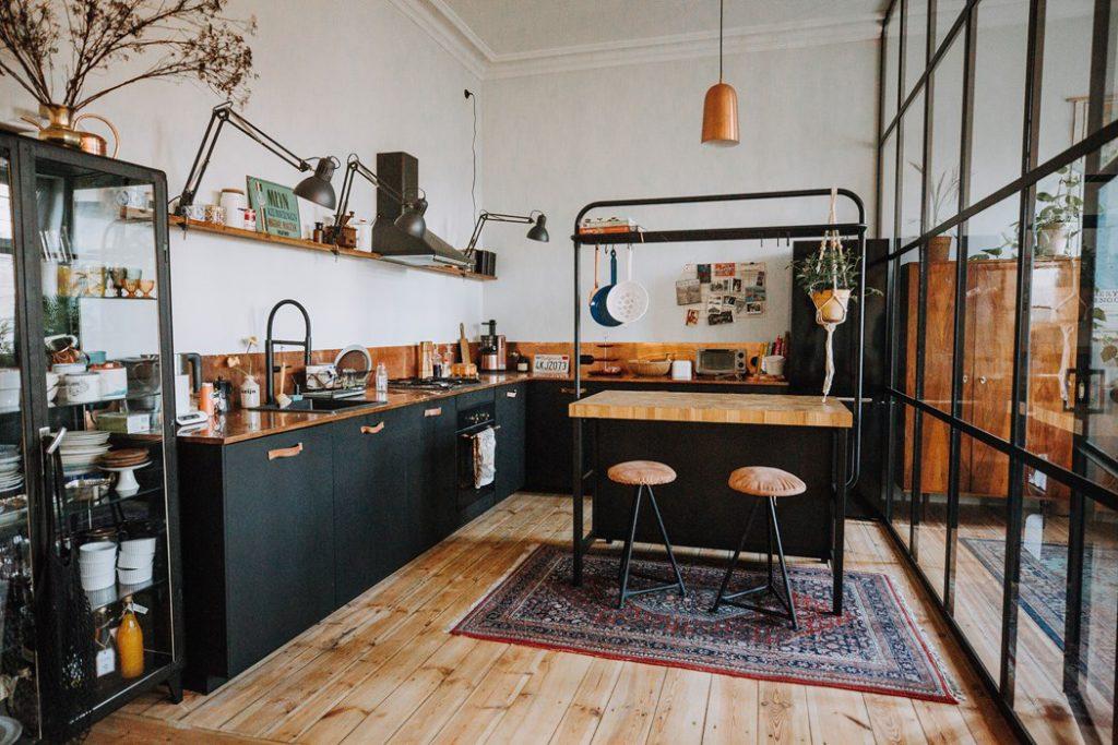 Cuisine Noire 9 Idees Pour Une Cuisine Sombre Maison Declic