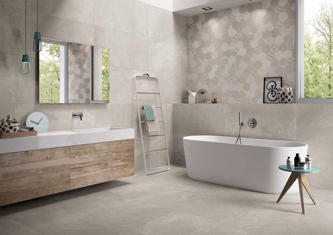 Carrelage salle de bain... Quels motifs, couleurs et ...