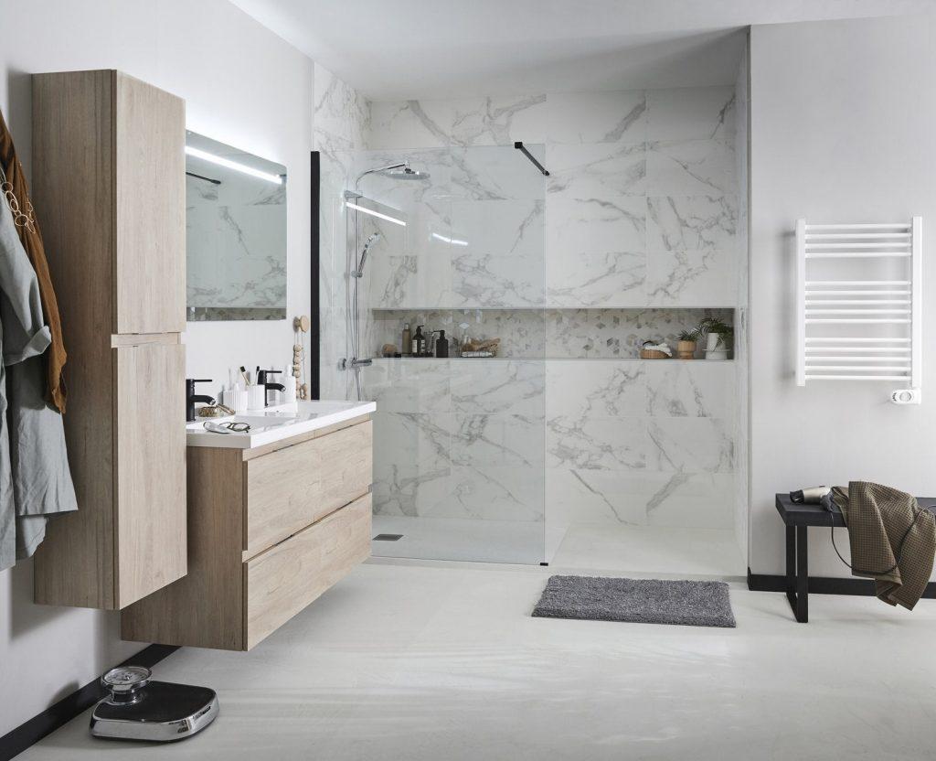 Couleur Tendance Salle De Bain 2019 carrelage salle de bain quels motifs, couleurs et