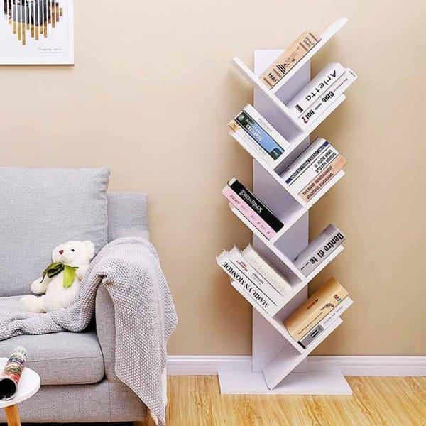 vasagle-etageres-bibliotheque-industrielle-arbre-en-bois-a-8-niveaux-blanc-lbc11wtv1